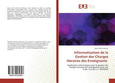 Capa do livro de Informatisation de la Gestion des Charges Horaires des Enseignants