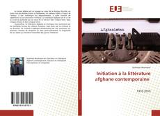 Bookcover of Initiation à la littérature afghane contemporaine