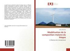 Couverture de Modélisation de la composition molaire du biogaz