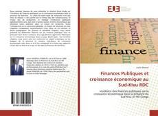 Обложка Finances Publiques et croissance économique au Sud-Kivu RDC