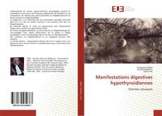 Portada del libro de Manifestations digestives hypothyroïdiennes