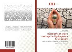 Couverture de Hydrogène énergie : stockage de l'hydrogène à l'état couplé