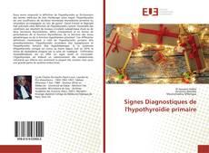 Signes Diagnostiques de l'hypothyroïdie primaire的封面