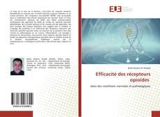 Bookcover of Efficacité des récepteurs opioïdes