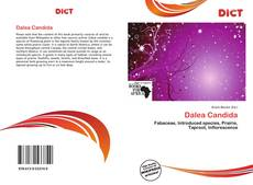 Bookcover of Dalea Candida