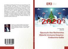 Capa do livro de Opuscule Axe Recherches Obésité Immuno-Enzymo-Endocrino-Iodée