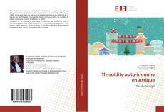 Capa do livro de Thyroïdite auto-immune en Afrique