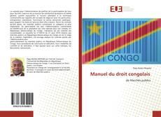 Couverture de Manuel du droit congolais