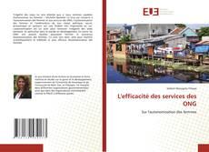 Обложка L'efficacité des services des ONG