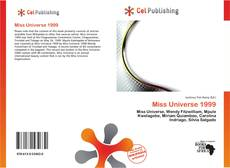 Bookcover of Miss Universe 1999