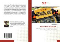Bookcover of Éducation musicale