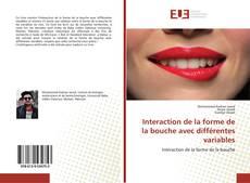 Interaction de la forme de la bouche avec différentes variables的封面