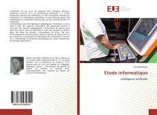 Buchcover von Etude informatique