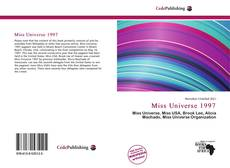 Bookcover of Miss Universe 1997