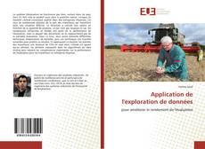 Application de l'exploration de données kitap kapağı