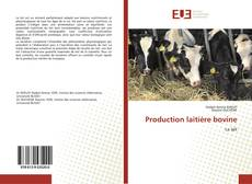 Portada del libro de Production laitière bovine