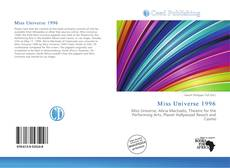 Bookcover of Miss Universe 1996