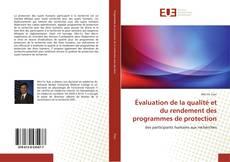 Borítókép a  Évaluation de la qualité et du rendement des programmes de protection - hoz