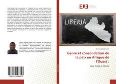 Borítókép a  Genre et consolidation de la paix en Afrique de l'Ouest : - hoz
