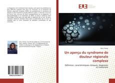 Borítókép a  Un aperçu du syndrome de douleur régionale complexe - hoz
