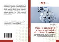 Capa do livro de Theorie et application de la commande predictive des systemes dynamiques