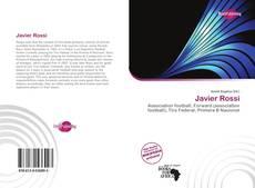 Portada del libro de Javier Rossi