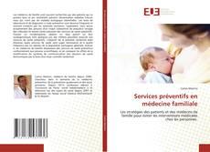Capa do livro de Services préventifs en médecine familiale