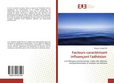 Facteurs caractérisant influençant l'adhésion kitap kapağı