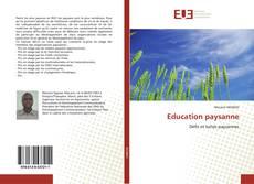 Couverture de Education paysanne