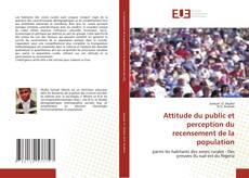 Bookcover of Attitude du public et perception du recensement de la population