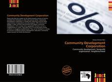 Buchcover von Community Development Corporation