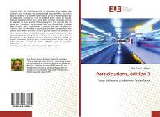 Bookcover of Participations, édition 3