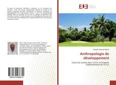 Anthropologie de développement的封面