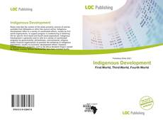 Couverture de Indigenous Development