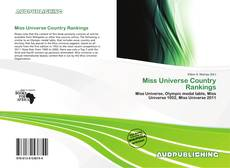 Bookcover of Miss Universe Country Rankings