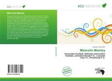 Malcolm Manley kitap kapağı