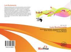 Portada del libro de Luis Bustamante