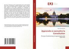 Buchcover von Apprendre à connaître la Constitution