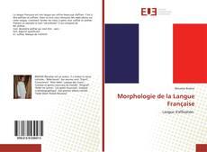 Bookcover of Morphologie de la Langue Française