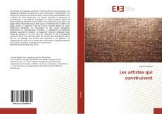 Capa do livro de Les artistes qui construisent