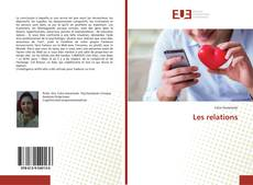 Bookcover of Les relations