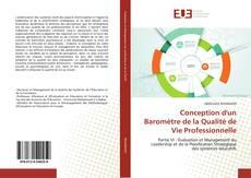 Capa do livro de Conception d'un Baromètre de la Qualité de Vie Professionnelle