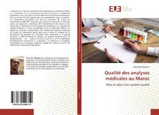 Обложка Qualité des analyses médicales au Maroc