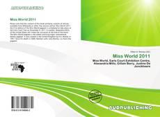 Portada del libro de Miss World 2011