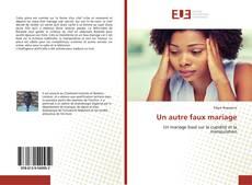 Bookcover of Un autre faux mariage