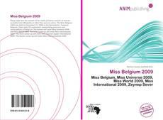 Bookcover of Miss Belgium 2009