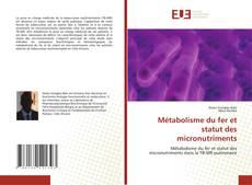 Capa do livro de Métabolisme du fer et statut des micronutriments