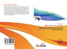 Bookcover of Miss America 2010