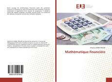 Mathématique financière kitap kapağı