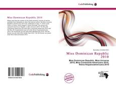 Bookcover of Miss Dominican Republic 2010